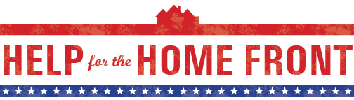 Help for the Homefront banner